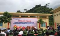 Khánh thành Nhà tưởng niệm các anh hùng liệt sỹ mặt trận Vị Xuyên - Hà Giang