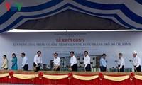 Lễ Khởi công Dự án Giải quyết ngập do triều khu vực Thành phố Hồ Chí Minh