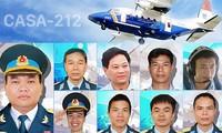 Lễ truy điệu 9 phi công và thành viên tổ bay CASA-212 diễn ra sáng 30/06