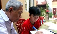 Thầy giáo Nguyễn Hữu Trà và lớp học Hướng thiện