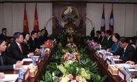 Chủ tịch Quốc hội Nguyễn Thị Kim Ngân hội đàm với Chủ tịch Quốc hội Lào Pany Yathotou