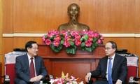 Thúc đẩy quan hệ hợp tác giữa Mặt trận Tổ quốc Việt Nam và Chính hiệp Trung Quốc