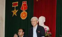 Tổng Bí thư Nguyễn Phú Trọng tiếp xúc cử tri huyện Đông Anh, Hà Nội