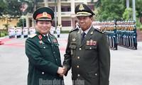 Bộ trưởng Bộ Quốc phòng Vương quốc Campuhia thăm Việt Nam