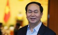 Chủ tịch nước Trần Đại Quang tiếp Phó Thủ tướng, Bộ trưởng Nội vụ Campuchia