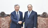 Thủ tướng Nguyễn Xuân Phúc tiếp Chủ tịch AIIB