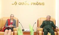 Việt Nam và Hà Lan hợp tác về giữ gìn hòa bình Liên hợp quốc