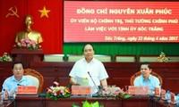 Thủ tướng Nguyễn Xuân Phúc: Sóc Trăng cần tập trung mở rộng lúa cao sản và các loại trái cây lợi thế