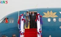 Báo chí Lào: Chuyến thăm của Thủ tướng Nguyễn Xuân Phúc nâng quan hệ Lào - Việt lên một tầm cao mới