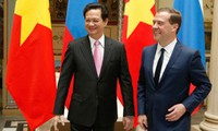 กระชับมิตรระหว่างเวียดนามกับรัสเซียและเบลารุส