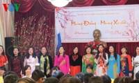 ชาวเวียดนามที่อาศัยในต่างประเทศฉลองเทศกาลตรุษเต็ต