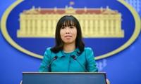 Việt Nam phản đối hành động Đài Loan diễn tập bắn đạn thật ở vùng biển xung quanh đảo Ba Bình
