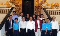 Thủ tướng Nguyễn Xuân Phúc chúc mừng thành tích của Đoàn Thể thao Việt Nam tại SEA Games 29