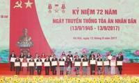 Phó Chủ tịch nước Đặng Thị Ngọc Thịnh dự kỷ niệm 72 năm Ngày truyền thống Tòa án nhân dân