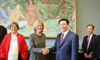 Việt Nam mong muốn hợp tác hiệu quả với Thụy Sĩ