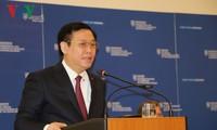 Phó Thủ tướng Vương Đình Huệ hội kiến Thủ tướng Slovakia