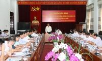 Phó Thủ tướng Trương Hòa Bình làm việc tại tỉnh Lai Châu