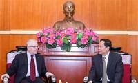Chủ tịch MTTQ Trần Thanh Mẫn tiếp Đại sứ Australia tại Việt Nam
