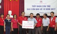 Hội chữ Thập đỏ Việt Nam gây quỹ được hơn 20 tỷ đồng ủng hộ 6 tỉnh miền Trung bị bão lũ