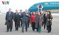 Chủ tịch Quốc hội Nguyễn Thị Kim Ngân gặp gỡ cán bộ Đại sứ quán và cộng đồng người Việt Nam tại Kaza