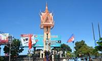 Khánh thành Đài hữu nghị Việt Nam-Campuchia tại tỉnh Koh Kong