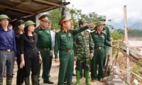 Phó Chủ tịch Quốc hội Đỗ Bá Tỵ chỉ đạo công tác khắc phục hậu quả mưa lũ tại Yên Bái
