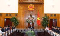 Thủ tướng Nguyễn Xuân Phúc tiếp Bộ trưởng Ngoại giao Lào