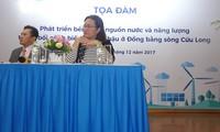 """Hội thảo """"Phát triển bền vững nguồn nước và năng lượng ở ĐBSCL''"""