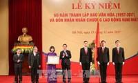 Báo Văn hóa kỷ niệm 60 năm đồng hành phát triển văn hóa Việt Nam