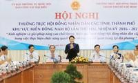 Hội nghị thường trực Hội đồng nhân dân các tỉnh, thành phố Miền Đông Nam Bộ