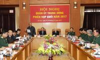 Quân ủy Trung ương họp phiên cuối năm 2017