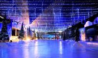 Công viên Hồ Tây tổ chức Giáng sinh mô phỏng châu Âu