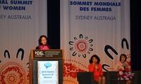 Tham gia các liên kết toàn cầu giúp phụ nữ Việt Nam tiếp cận mô hình phát triển bền vững