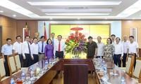 Ủy ban Trung ương MTTQ Việt Nam chúc mừng Đài TNVN nhân ngày 21/6