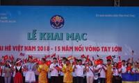 """Khai mạc trại hè Việt Nam 2018: Hành trình """"15 năm - Nối vòng tay lớn"""""""
