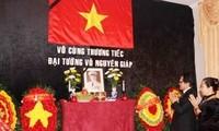 Vietnamese embassies mourn General Vo Nguyen Giap