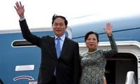 President Tran Dai Quang visits China
