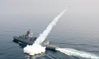 South Korea conducts drills at sea