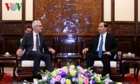 President Tran Dai Quang receives Interpol Secretary General