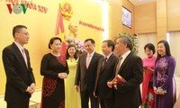 NA Chairwoman meets Heads of Vietnam's overseas diplomatic missions