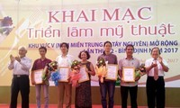 Art exhibition of south-central and central highlands region