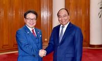PM pledges uptimal conditions for Japanese enterprises