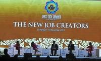 APEC CEOs discuss new job creators