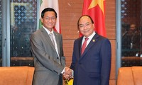 PM receives Myanmar's Vice President
