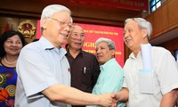 Party leader: Vietnam's anti-corruption efforts lauded