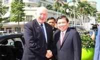 Australia treasures cooperation with HCMC