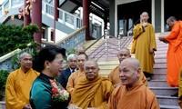 Lord Buddha's 2562nd birthday marked