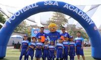 មជ្ឈមណ្ឌលបាល់ទាត់S&A Academy និមិត្តរូបនៃចំណងមិត្ដភាពវៀតណាម-ថៃក្នុង ភូមិបាល់ទាត់យុវជន