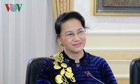 ប្រធានរដ្ឋសភាលោកស្រី Nguyen Thi Kim Ngan ជួបចរចាជាមួយប្រធាន សភាជាន់ទាបកាហ្សាក់ស្ថាន
