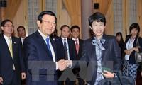 Президент Вьетнама принял делегацию предприятий Японии